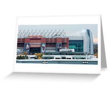 Manchester United 1 Greeting Card