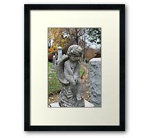 Child Angel Framed Print