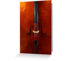 The String Instrument Greeting Card