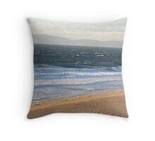Windy Coast in Redondo Beach Throw Pillow