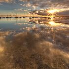 Dual Sunbursts by Lynden