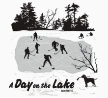 Day On The Lake Hockey One Piece - Short Sleeve