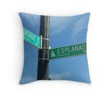 Redondo Beach- Avenue C Throw Pillow