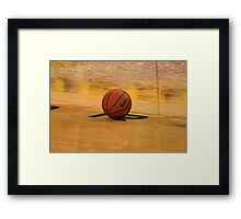 Waiting for the Game Framed Print