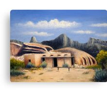 The Old Outpost Canvas Print