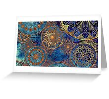 Astro pattern Greeting Card