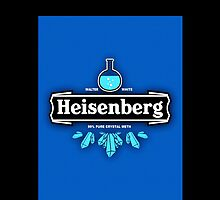 Heisenberg Heineken Meth Logo by Kxnz