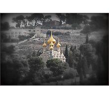 Jerusalem, City of Gold Photographic Print