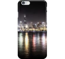 Chicago Skyline - Night iPhone Case/Skin