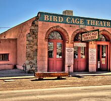 The Bird Cage Theatre Tombstone Arizona by Diana Graves Photography