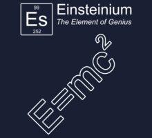 Einsteinium - The Element of Genius Kids Clothes
