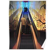 Glasgow Escalators Poster