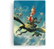 Aerial Trouble Canvas Print