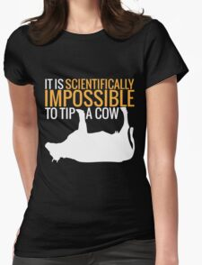 Scientifically Impossible Womens Fitted T-Shirt