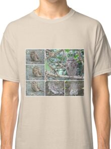 Tawny Frogmouth collage Classic T-Shirt