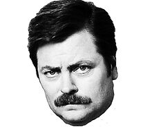Ron Swanson Says No by therabbitabacus