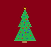 Christmas Tree Basic by Littlemantarzan