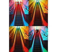 Escalator Collage No. II Photographic Print