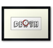 Red Ring of Death Framed Print