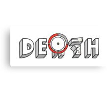 Red Ring of Death Canvas Print
