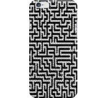 Pattern- Black  iPhone Case/Skin