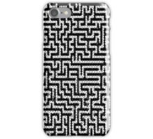 Pattern- Black  iPhone Case/Skin