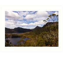 Across the lakes Art Print