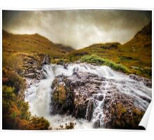 Falls of Glencoe Poster