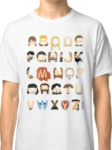 GoT Alphabet Classic T-Shirt