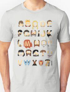 GoT Alphabet T-Shirt