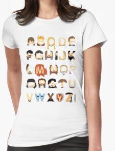 GoT Alphabet Womens Fitted T-Shirt