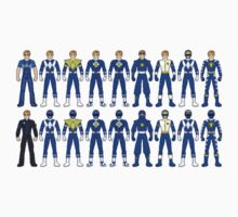 History of Blue Ranger Kids Clothes