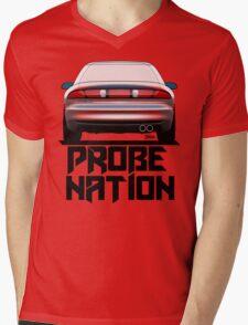PROBENATION2.0 (Rear view) Mens V-Neck T-Shirt