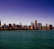 Chicago Skyline by Jack Steele