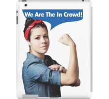 We Are the In Crowd iPad Case/Skin