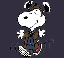 Snoopy as the 10th Doctor Unisex T-Shirt