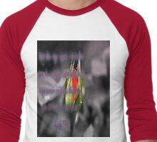 Anais Nin Quote Men's Baseball ¾ T-Shirt