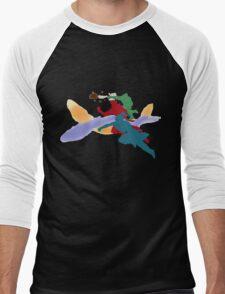The Fabulous Fire Ferrets  Men's Baseball ¾ T-Shirt