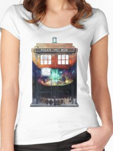 Gallifrey Falls No More Women's Fitted Scoop T-Shirt