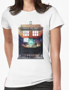 Gallifrey Falls No More Womens Fitted T-Shirt