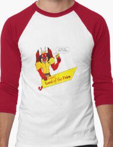 Beelzebub's Lord of the Fries Men's Baseball ¾ T-Shirt