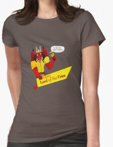 Beelzebub's Lord of the Fries Womens Fitted T-Shirt