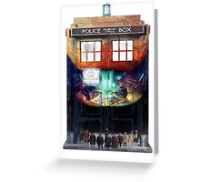 Gallifrey Falls No More Greeting Card