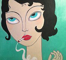 Stoner girl by Stolensouljess