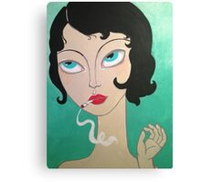 Stoner girl Canvas Print
