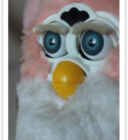 When Will My Husband Return From War Furby  Sticker