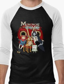 Mononoke Time Men's Baseball ¾ T-Shirt