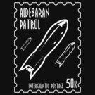 Aldebaran Patrol Postage Stamp by Samuel Sheats