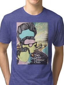 two door cinema club poster Tri-blend T-Shirt