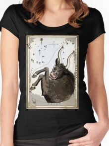 TAURUS the BULL Star Cluster Map Women's Fitted Scoop T-Shirt